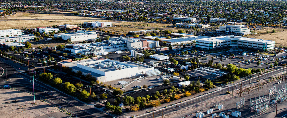 Sandia Science and Technology Park aerial